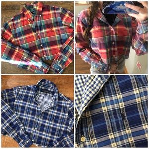 Polo ralph lauren cropped button up
